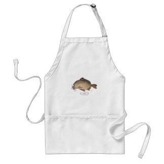 Carp fish, tony fernandes apron