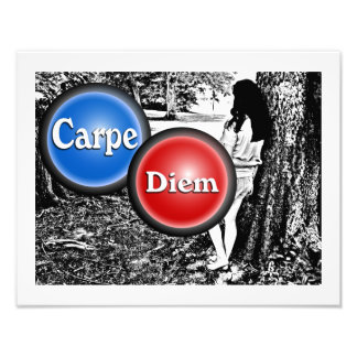 Carpe Diem - art poster Photo Art
