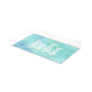 Carpe That Effing Diem Acrylic Tray