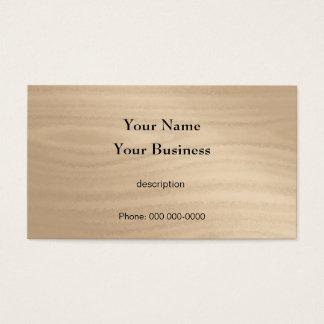Carpenter Construction Handyman Wood Grain Business Card