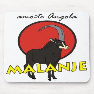 Carpet for rat - I love you Angola - Malanje Mousepad