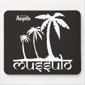 Carpet for rat - I love you Angola - mussulo Mousepads