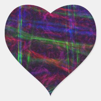 Carpet Lasers Heart Sticker