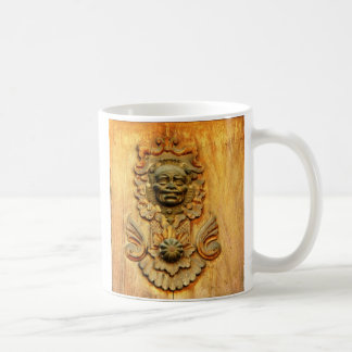 Carriage door, Antigua, Guatemala Coffee Mug