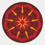 Carrie5 Round Sticker