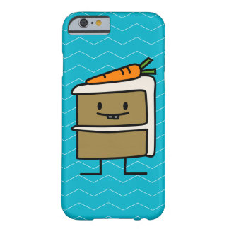 Carrot Cake slice bunny teeth icing dessert Barely There iPhone 6 Case