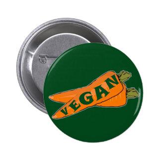Carrot Pin Button - Vegan Gifts