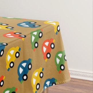 cars picnic tablecloth