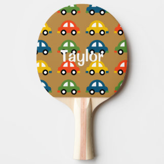 Cars ping pong paddle