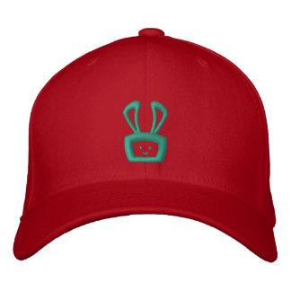 Cartoon Acid Oscar the Bunny Hat (Green Logo) Baseball Cap