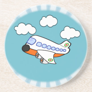 Cartoon Airplane Coaster