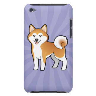 Cartoon Akita Inu / Shiba Inu Barely There iPod Cases