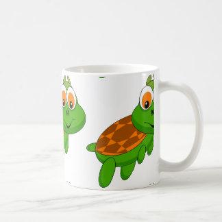 Cartoon Basic White Mug