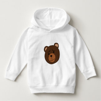 Cartoon Bear - Toddler Hoodie Sweater