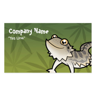 Cartoon Bearded Dragon / Rankin Dragon Pack Of Standard Business Cards