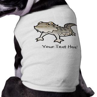 Cartoon Bearded Dragon / Rankin Dragon Sleeveless Dog Shirt