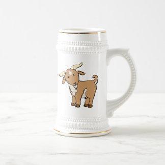 Cartoon Billy Goat Beer Steins