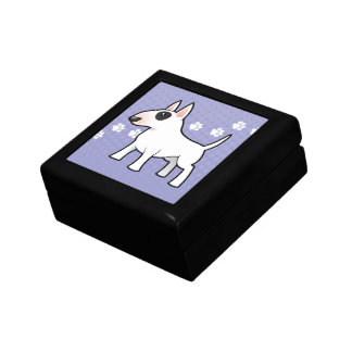 Cartoon Bull Terrier Gift Box
