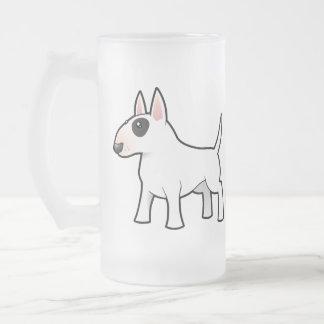 Cartoon Bull Terrier Mugs