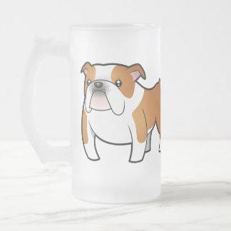 Cartoon Bulldog Mugs