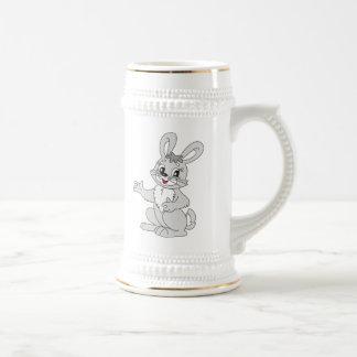 Cartoon Bunny Rabbit Beer Steins