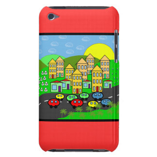 Cartoon City iPod Touch Covers
