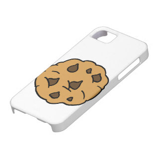Cartoon Clipart HUGE Chocolate Chip Cookie Dessert Case For The iPhone 5