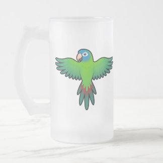 Cartoon Conure / Lorikeet / Parrot Mug