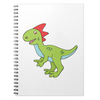 Cartoon Dinosaur Notebooks