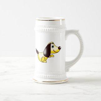 Cartoon Dog Beer Steins
