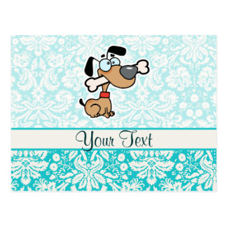 Cartoon Dog; Cute Post Cards