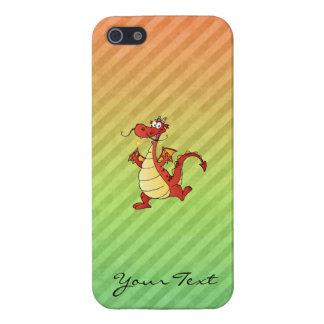 Cartoon Dragon Design iPhone 5 Covers