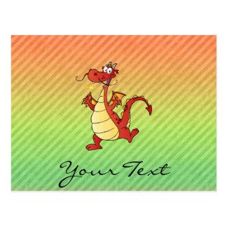Cartoon Dragon Design Postcards