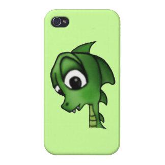 Cartoon Dragon iPhone 4/4S Cover
