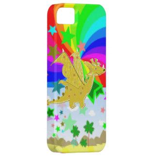 Cartoon Dragon Rainbow Colors Pixel World iPhone 5 Cover