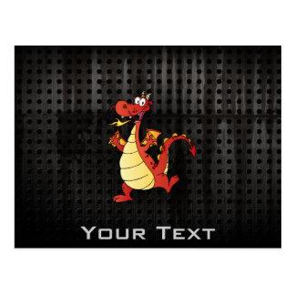 Cartoon Dragon; Rugged Postcards