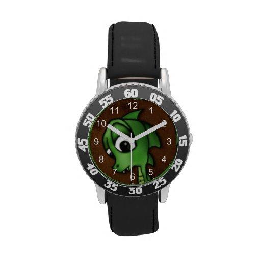 Cartoon Dragon Wrist Watches