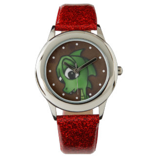 Cartoon Dragon Wrist Watches