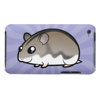 Cartoon Dwarf Hamster Case-Mate iPod Touch Case