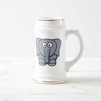 Cartoon Elephant Coffee Mugs