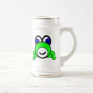 Cartoon Frog Beer Steins