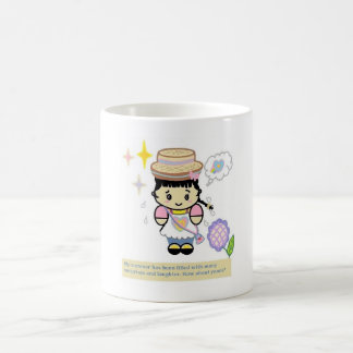 Cartoon Girl Mug