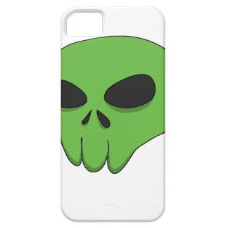 cartoon green skull iPhone 5 covers