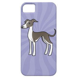 Cartoon Greyhound / Whippet / Italian Greyhound iPhone 5 Cover