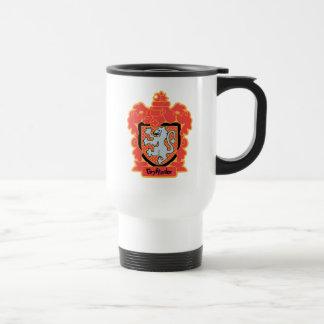 Cartoon Gryffindor Crest Travel Mug
