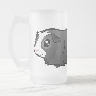 Cartoon Guinea Pig (long hair) Coffee Mugs