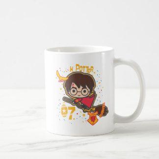 Cartoon Harry Potter Quidditch Seeker Coffee Mug