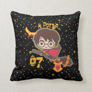 Cartoon Harry Potter Quidditch Seeker Cushion