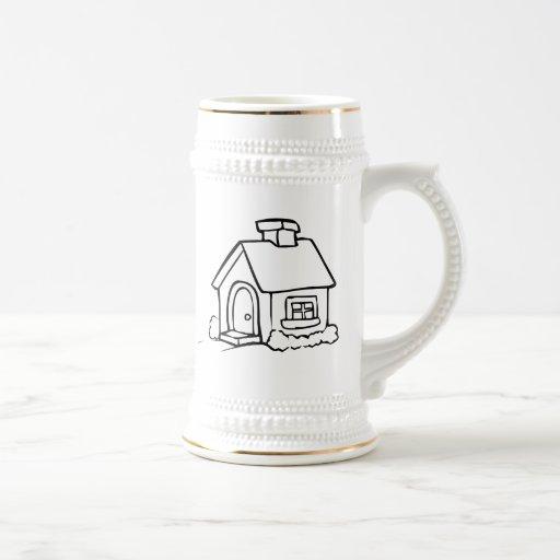 Cartoon Home Mug