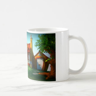 Cartoon House Mug